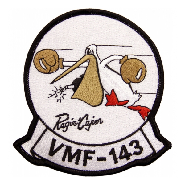 Marine Fighter Squadron VMF-143 Patch