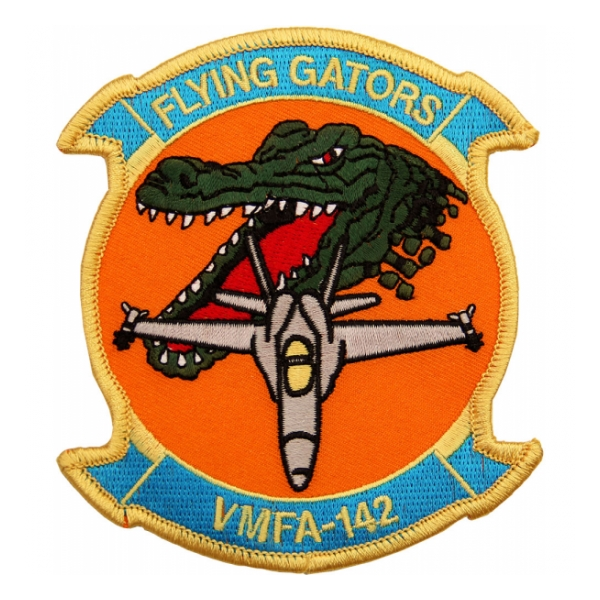 Marine Fighter Attack Squadron VMFA-142 (Flying Gators) Patch