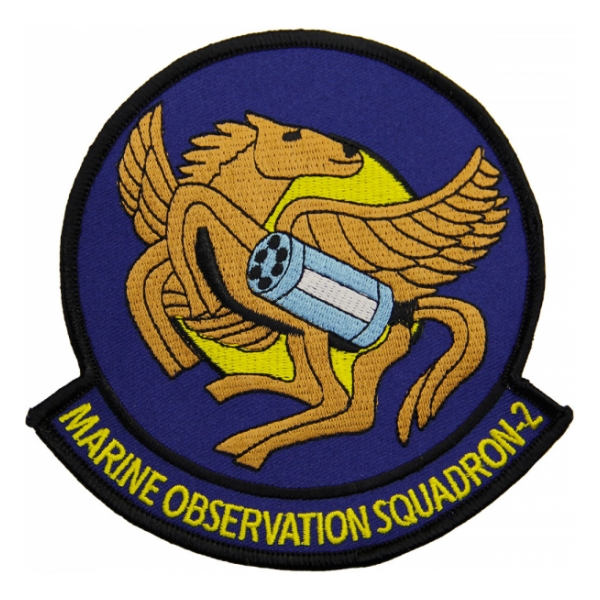 Marine Observation Squadron VMO-2 (Bronco) Patch