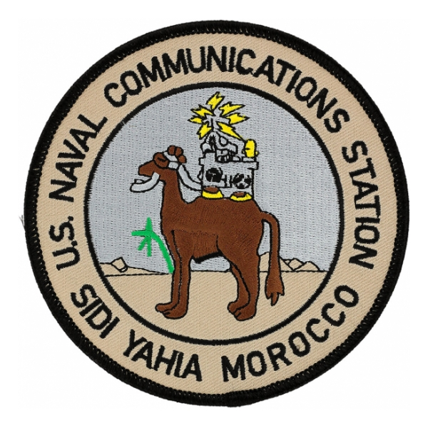 Naval Communication Station Sidi Yahia Morocco Patch