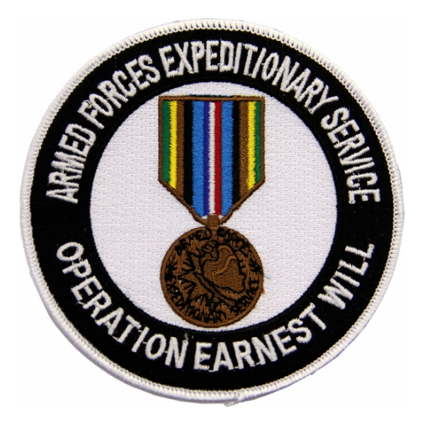 Armed Forces Expeditionary Service Medal Patch