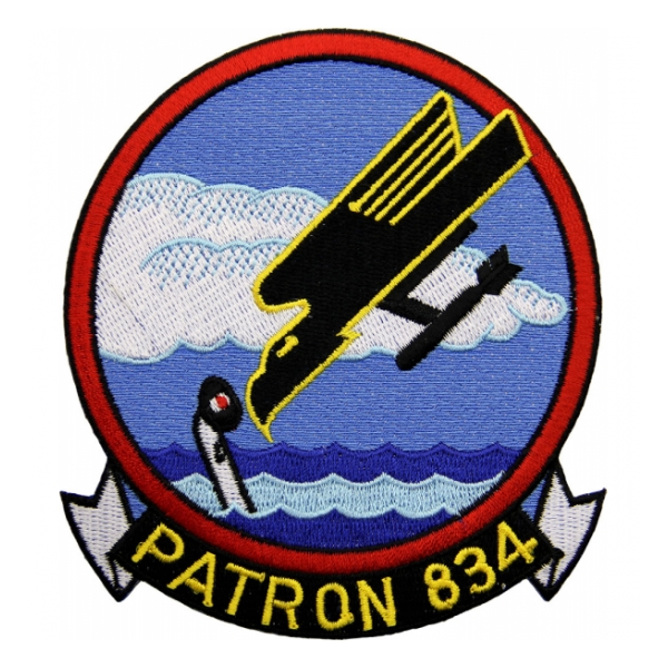 Navy Patrol Squadron VP-834 Patch