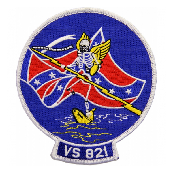 Navy Reserve Sea Control Squadron VS-821 Patch