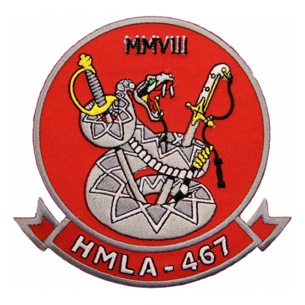 Marine Attack Helicopter Squadron HMA-467 Patch