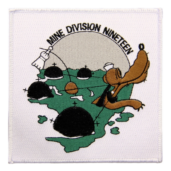 Navy Mine Division 19 Ship Patch