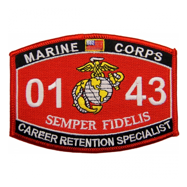 marine mos patches