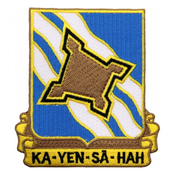 390th Infantry Regiment Patch