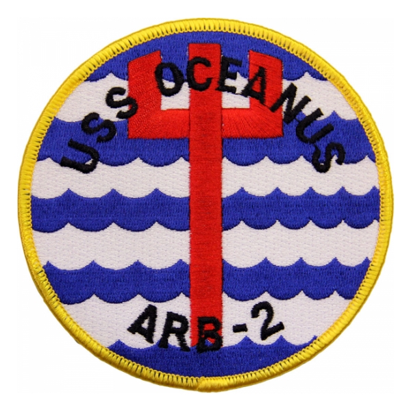 USS Oceanus ARB-2 Ship Patch