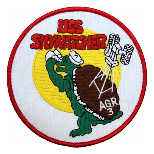USS Skywater AGR-3 Ship Patch
