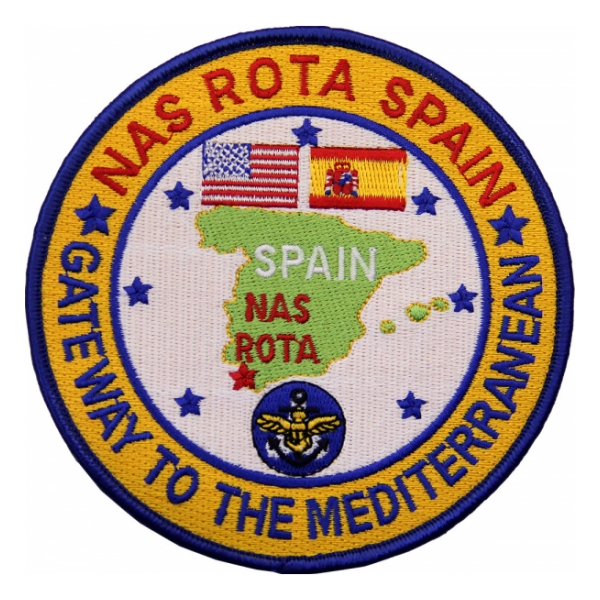 Naval Air Station Rota Spain Patch