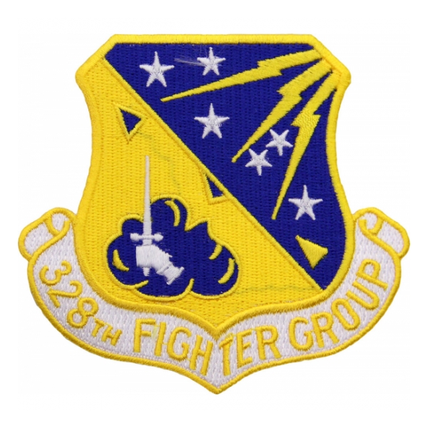 Air Force 328th Fighter Group Patch