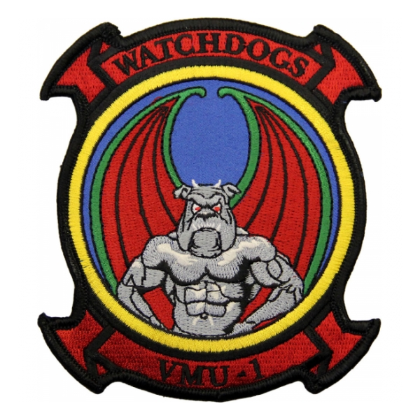 Marine Unmanned Aerial Vehicle Squadron VMU-1 Patch(Color)