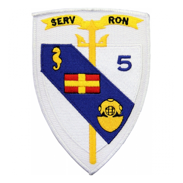 Navy Service Squadron 5 Patch