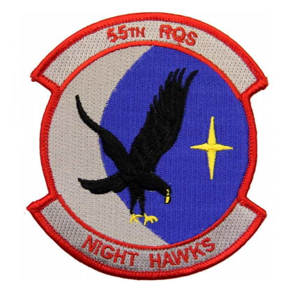 Air Force 55th Rescue Squadron (Night Hawks) Patch