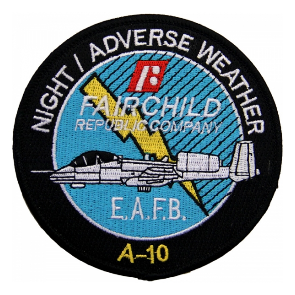 Air Force A-10 Night / Adverse Weather (E.A.F.B.) Patch