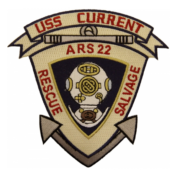 USS Current ARS-22 Ship Patch