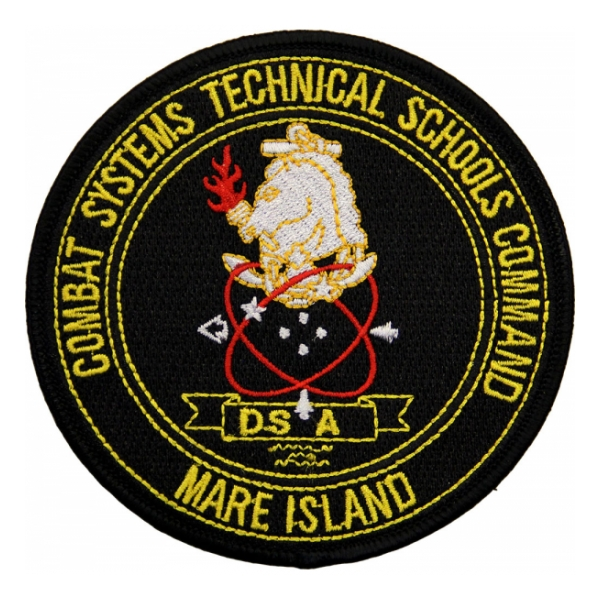 Combat Systems Technical Schools Command Mare Island Patch