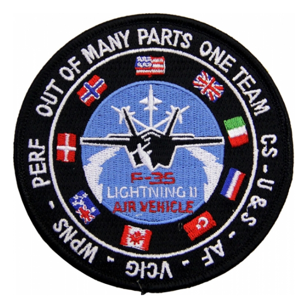 USAF F-35 Lightning II Air Vehicle Patch