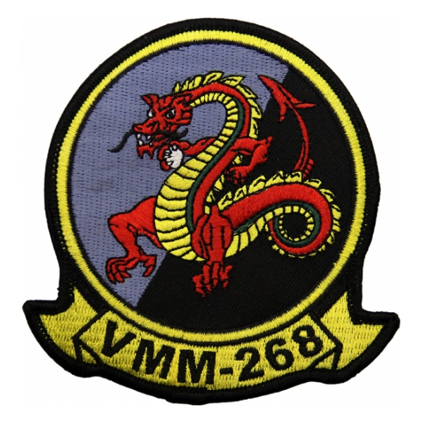 Marine Medium Tiltrotor Squadron VMM-268 Patch