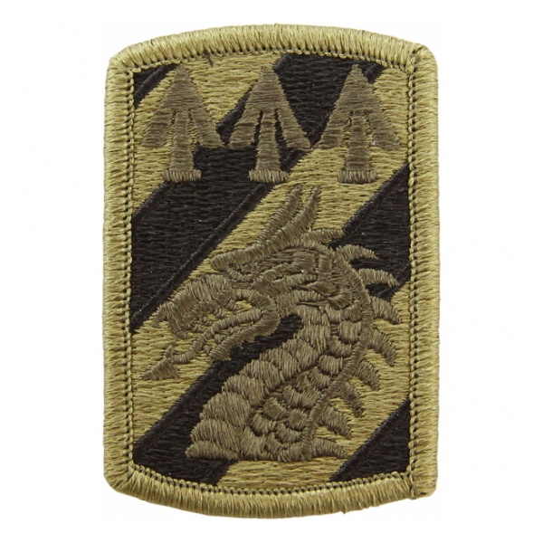 3rd Sustainment Brigade Scorpion / OCP Patch With Hook Fastener
