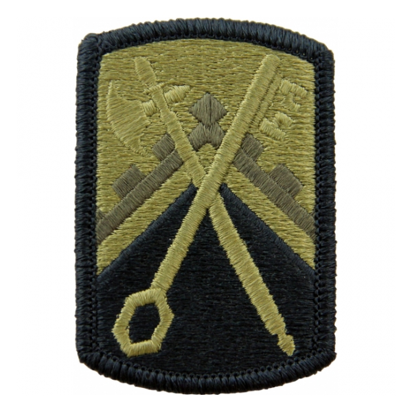 16th Sustainment Brigade Scorpion / OCP Patch With Hook Fastener