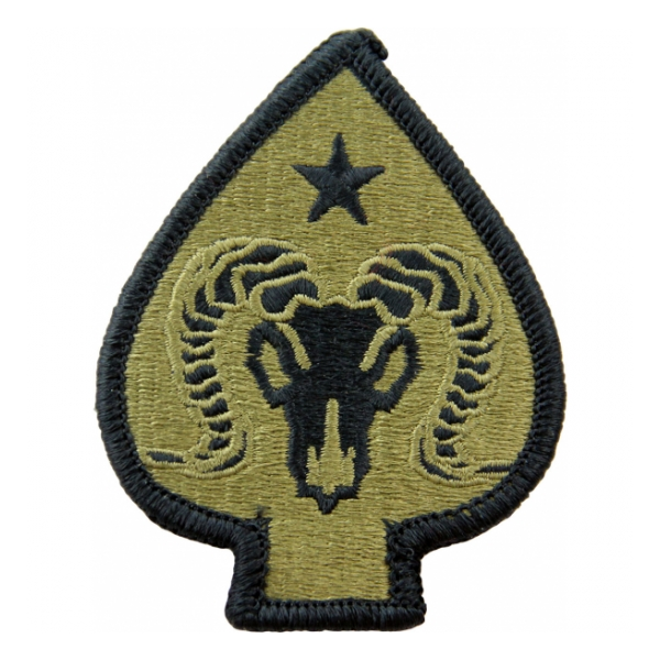 17th Sustainment Brigade Scorpion / OCP Patch With Hook Fastener