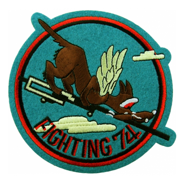 Navy Fighter Squadron VF-74 Patch