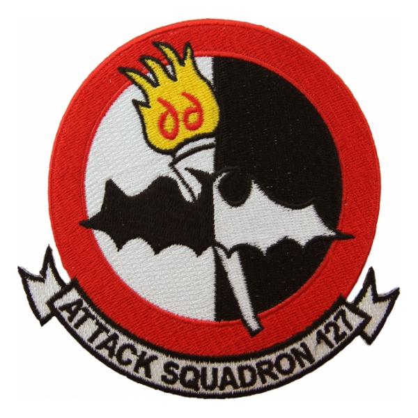 Navy Attack squadron VA-127 Patch