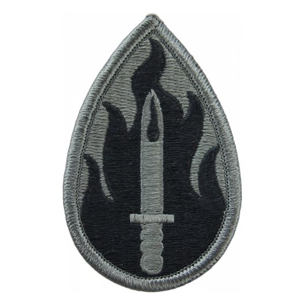63rd Infantry Division Patch  Foliage Green (Velcro Backed)