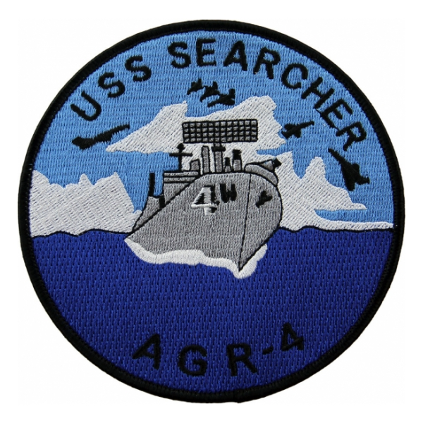 USS Searcher AGR-4 Ship Patch