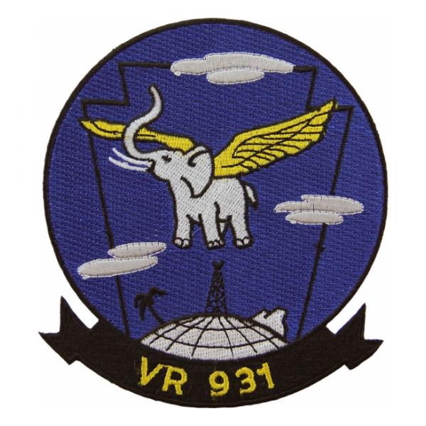 Navy Fleet Logistics Support Squadron Patch VR-931
