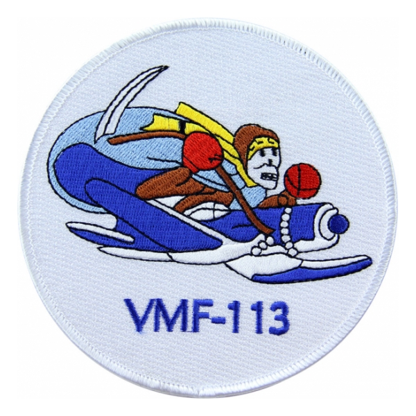 Marine Fighter Squadron VMF-113 Patch