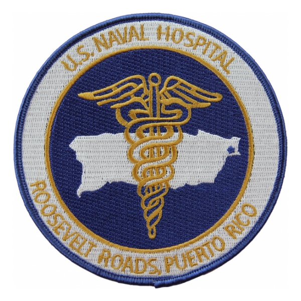 Naval Hospital Roosevelt Roads, Puerto Rico Patch
