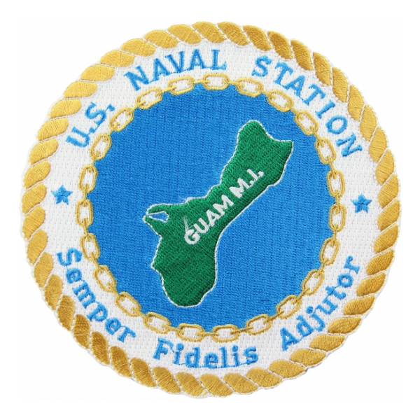 Naval Station Guam M.I. Patch