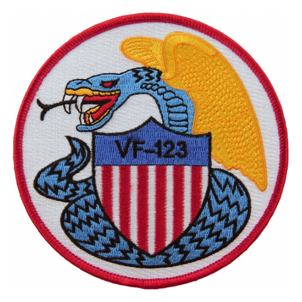 Navy Fighter Squadron VF-123 Patch