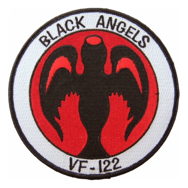 Navy Fighter Squadron VF-122 (Black Angels)Patch