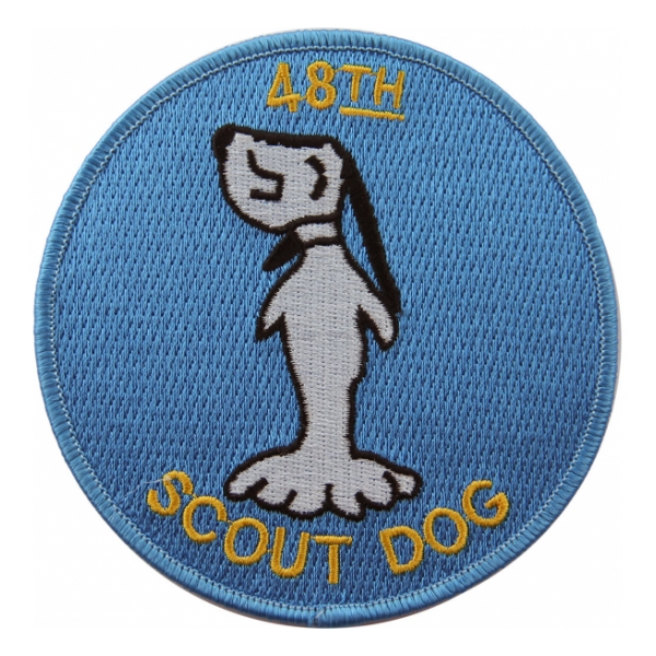 48th Infantry Scout Platoon Vietnam Patch