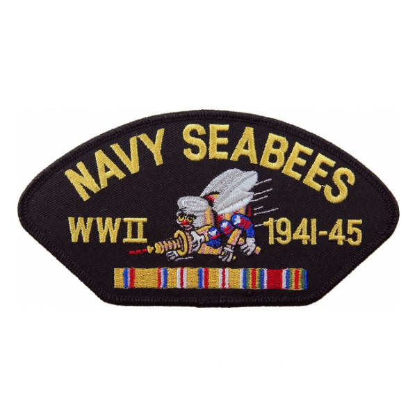 Navy Seabees WWII 1941-45 Patch