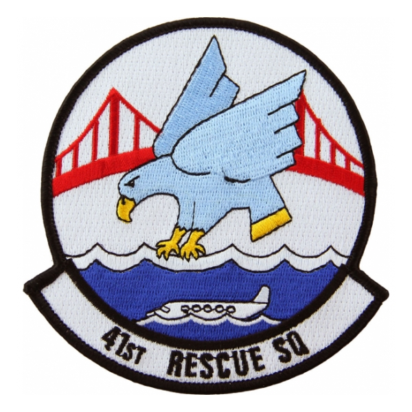 Air Force 41st Rescue Squadron Patch