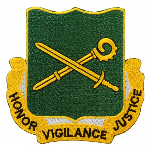 385th Military Police Battalion Patch (Honor Vigilance Justice)