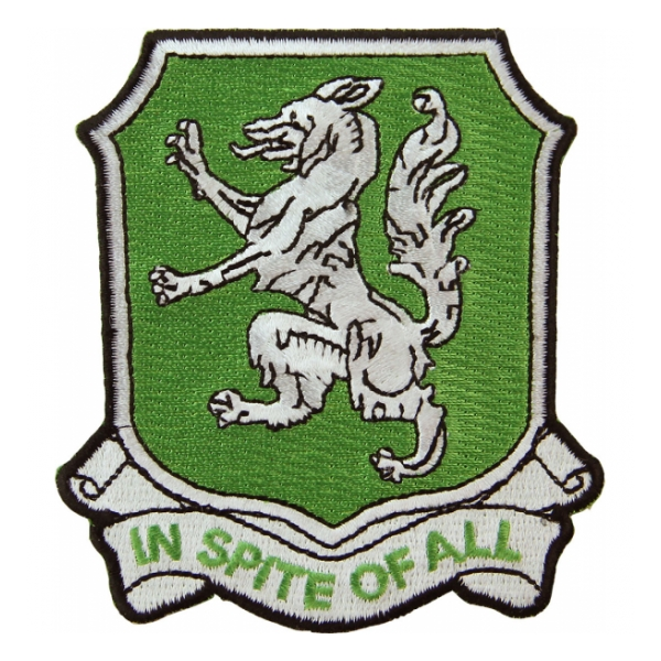 88th Armored Reconnaissance Battalion Patch (In Spite Of All)