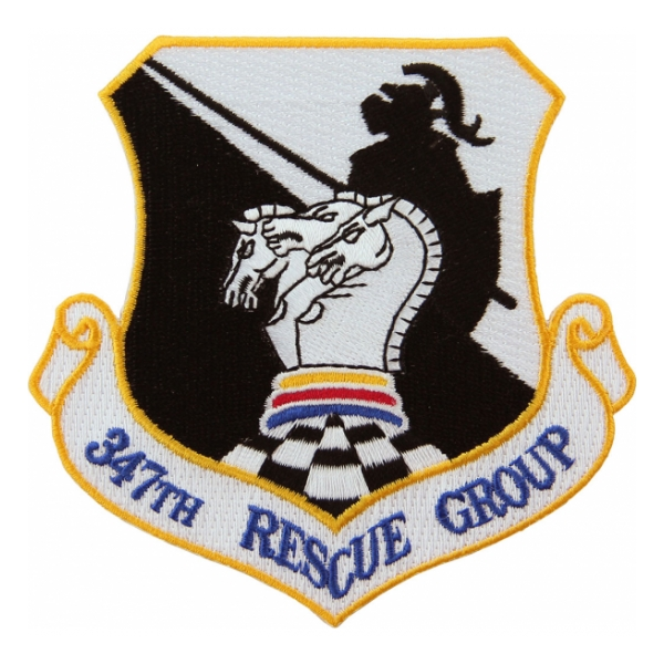 Air Force 347th Rescue Group Patch