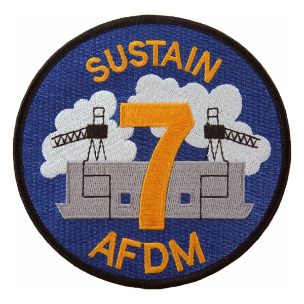 USS Sustain AFDN-7 Ship Patch