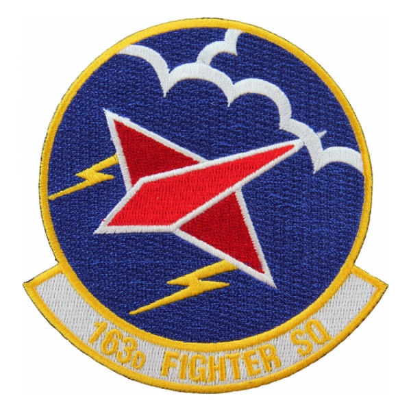 Air Force 163rd Fighter Squadron Patch