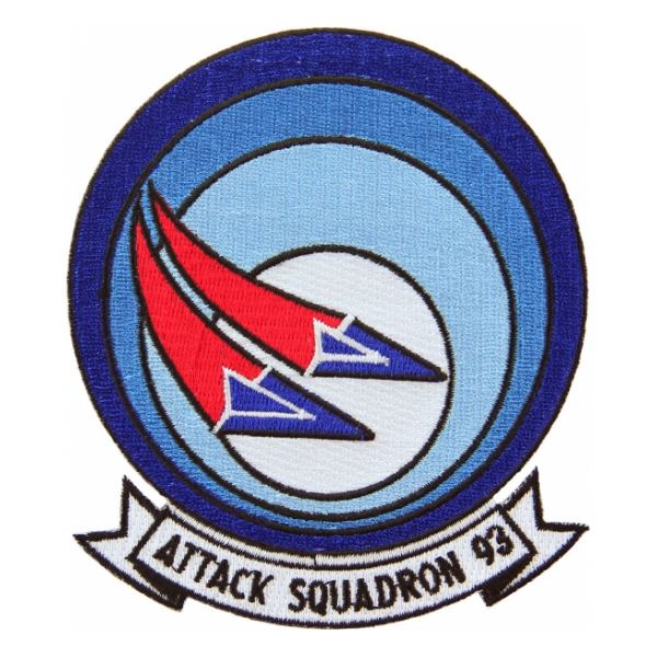 Navy Attack Squadron VA-93 Patch