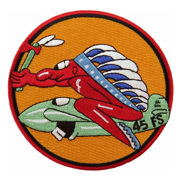 Air Force 45th Fighter Squadron Patch