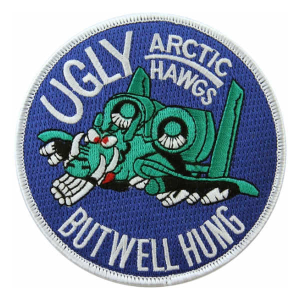 Air Force A-10 Arctic Hawgs Patch