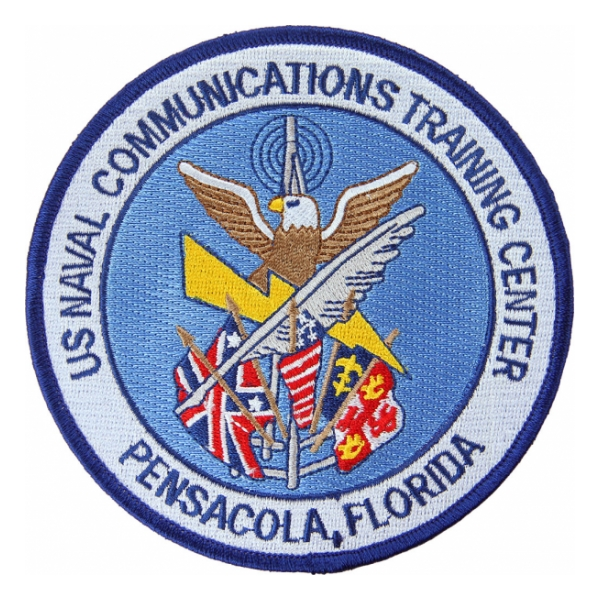 Naval Communications Training Center Pensacola, Florida Patch
