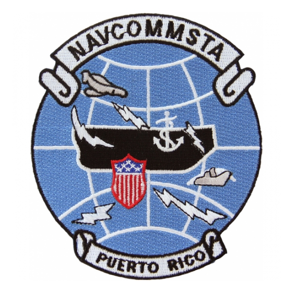 Naval Communication Station Puerto Rico Patch