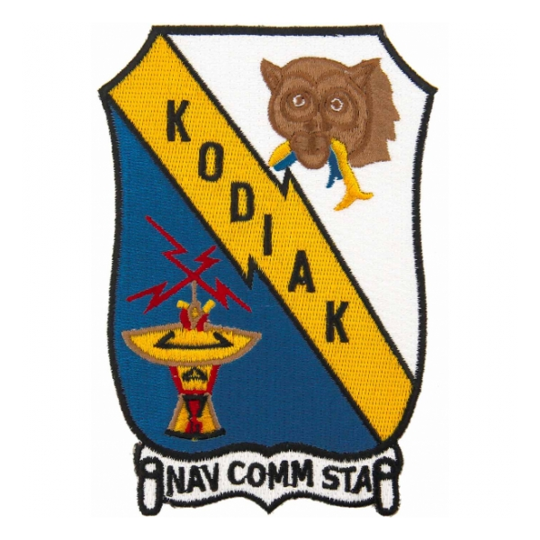 Naval Communication Station Kodiak, Alaska Patch